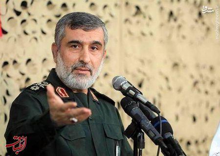 سردار حاجیزاده: غلط میکند کسی بخواهد در زمینه موشک مذاکره کند/ هرچه از قدرت موشکی در غزه و لبنان میبینید با حمایت ایران است