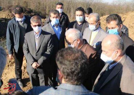 ساماندهی مرکز دفن زباله لاهیجان مورد بازدید مسئولان کشوری و استانی قرار گرفت