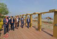 پایش میدانی امکانات و زیرساختهای گردشگری منطقه آزاد انزلی توسط سرپرست سازمان