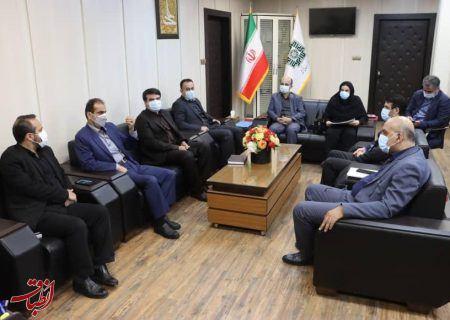 دیدار شهردار رشت با مدیرکل امور مالیاتی گیلان