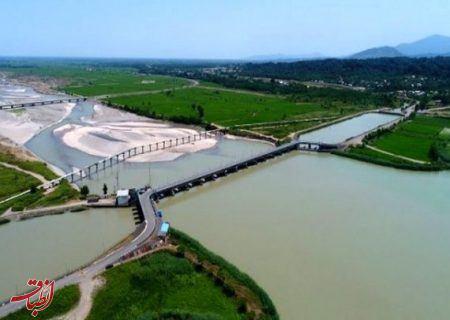 دومین مرحله آبگذاری اراضی شالیزارهای مناطق مرکزی گیلان