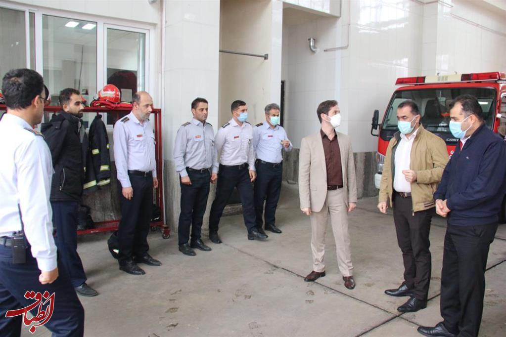 تاکید شهردار منتخب رشت بر بهره برداری از ایستگاه ۱۵ آتش نشانی تا پایان سال جاری